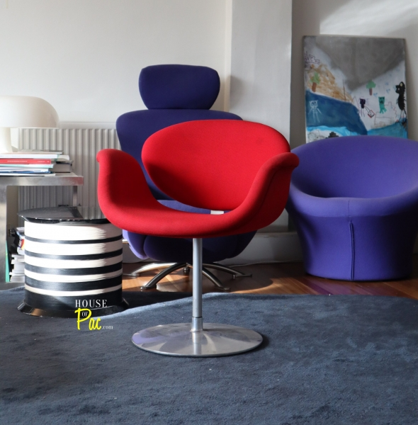 House of Pac - Red Little Tulip by Pierre Paulin and Artifort