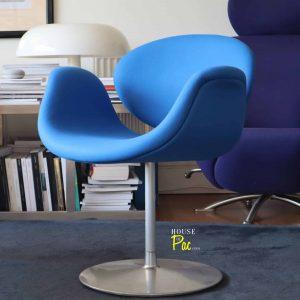 House of Pac - Little tulip blue wool Artifort Pierre Paulin